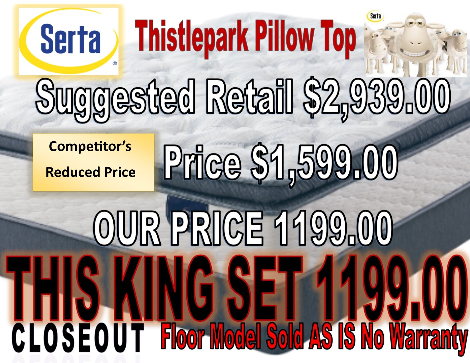 Thistlepark Pillow Top